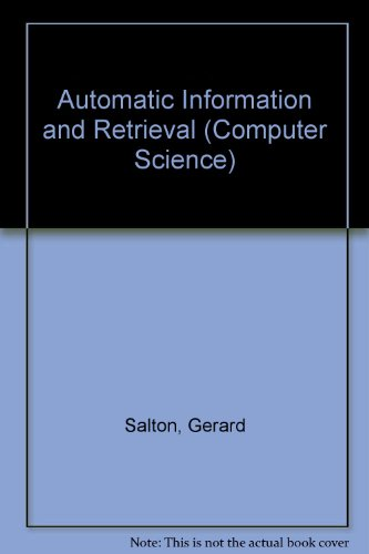 Automatic Information and Retrieval (Computer Science)