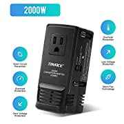 #LightningDeal TRYACE 2000W Travel Voltage Converter Step Down 220V to 110V, Travel Power Converter Adapter Combo International 8A Adaptor Plug Worldwide Wall Charge