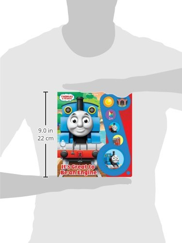 Thomas & Friends It's Great to Be an Engine Song Book by PUBLICATIONS INTERNATIONAL, LTD (Image #1)