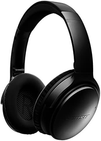 Bose QuietComfort 35 Wireless Headphones, Noise Cancelling - Black