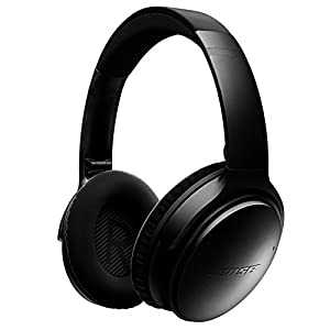 Bose QuietComfort 35 (Series I) Wireless Headphones, Noise Cancelling – Black