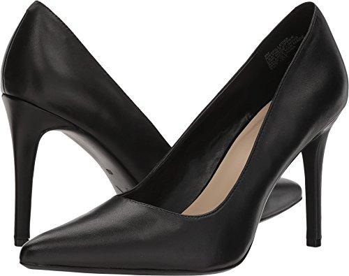 Nine West Women's Filled9X Black Leather 12 M US -