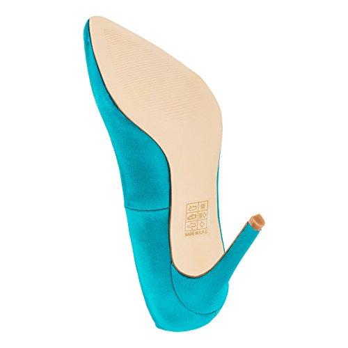 Türkis Para de Vestir M362tü Material W S Mujer Zapatos de Sintético n0qSwvfaAx