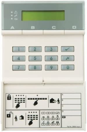 SCANTRONIC 9943 REMOTE KEYPAD WITH BUILT IN PROXIMITY READER WA22 5 FOB//TAGS