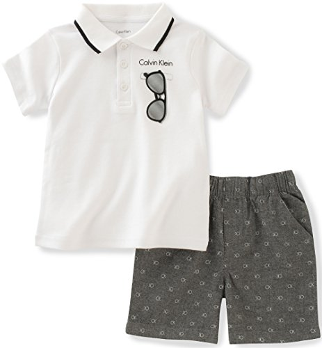 calvin-klein-baby-boys-2-pieces-set-plaid-shorts