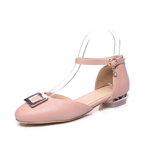 Femme SLC04180 Rose Sandales Compensées AdeeSu wAt8dxx4
