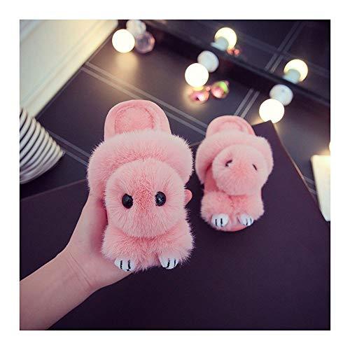 Pink L'intérieur Fashion Gaohui Children's Chaussures Antidérapant Doll Cartoon Chaussons Chaudes À Slippers Coton qz7z6xA
