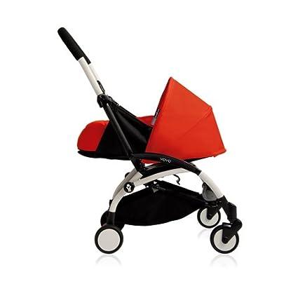 la silla de paseo más increible jamás imaginada Babyzen YoYo 0+ mesi Red chasis blanco
