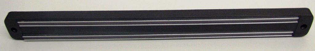 FunkyBuys® 2x Deluxe Large 55cm Black Magnetic Knife Rack (SI-K1021) Kitchen Utensil Holder Storage Rack SI-K1021-D