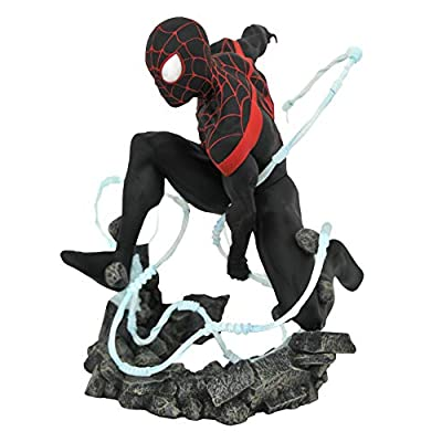 DIAMOND SELECT TOYS Marvel Premier Collection: Mile Morales Spider-Man Statue: Toys & Games
