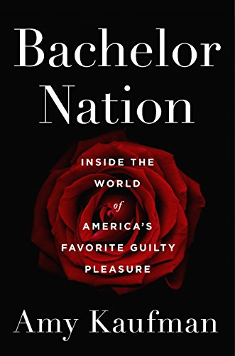 Collection sample book cover Bachelor Nation, a red rose on a black background