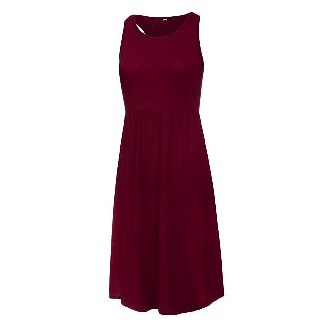Wave166 Vestido,Cortos Mujer Verano, Mini Vestido Boho de Mujer ...