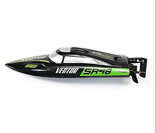 (Volantex V797-3 Vector SR48 Brushless RTR Remote Control High Speed Electric Boat RC ABS Hull 40km/h Self-righting Boat Fun for Pool, Lake, Outdoor Play)