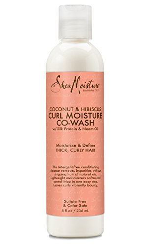 Shea Moisture Coconut & Hibiscus Co-Wash Conditioning Cleanser, 12 Ounce