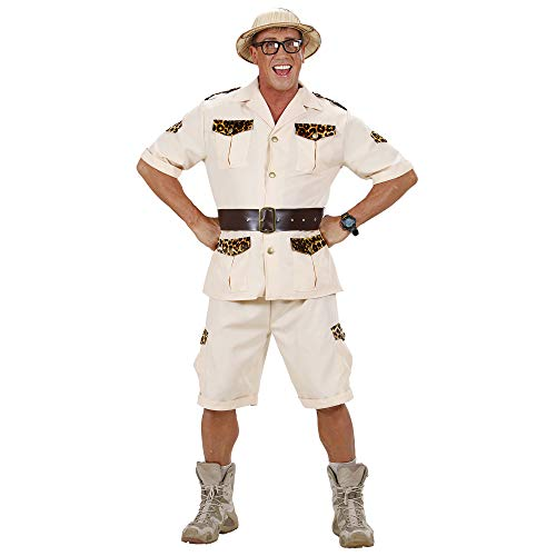 Mens Safari Man Costume Small Uk 38/40