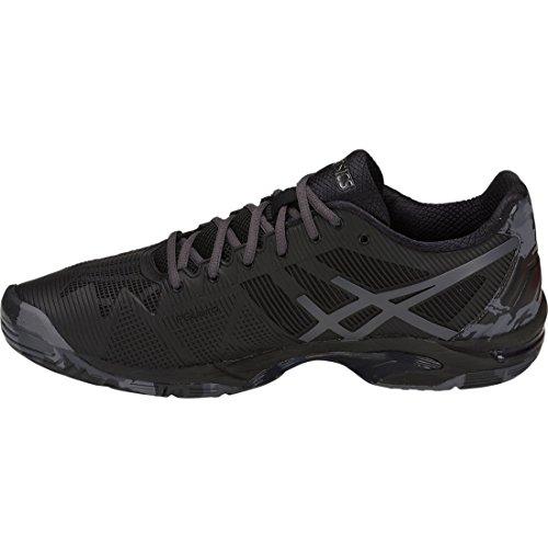 Chaussures Asics Gel-solution Speed 3 L.E. noir/gris foncé/gris carbone