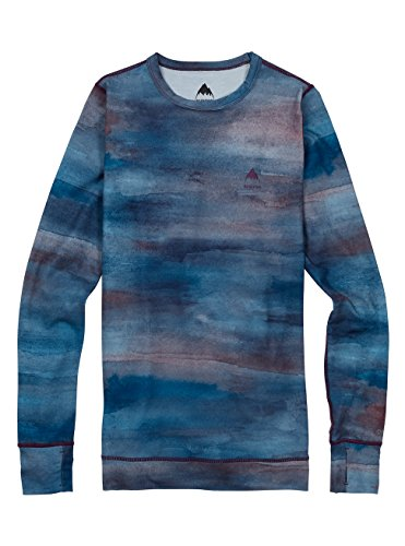 Burton Bases (Burton Women's Midweight Crew Tops, Jaded Sedona, Medium)