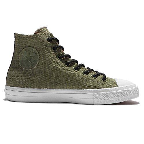 Shoe Converse II Taylor White Black Casual Hi Chuck Star Green Unisex All nTqax8T
