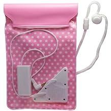 Bag-Type Waterproof Speakers for Smartphone (Pink)