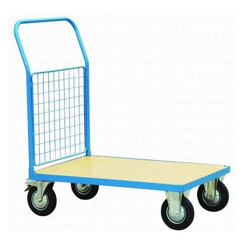 TAP 45523 Chariot de Manutention avec 1 dossier Grillag/és 1400 mm x 800 mm x 1170 mm cahrge admissible 500 kg