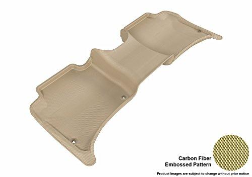 3D MAXpider Second Row Custom Fit All-Weather Floor Mat for Select Porsche Cayenne/Volkswagen Touareg Models – Kagu…