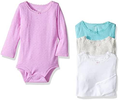 Carter's 4 Pack Bodysuits (Baby) - Assorted - 12 Months