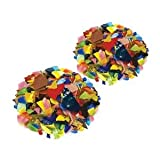 Bright Mix Mosaic Stained Glass Bits - 40 Oz