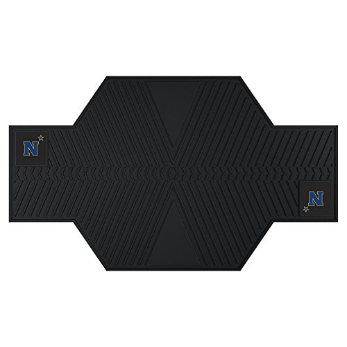 Fanmats 20621 U.S. Naval Academy Motorcycle Mat, Team Color, 82.5