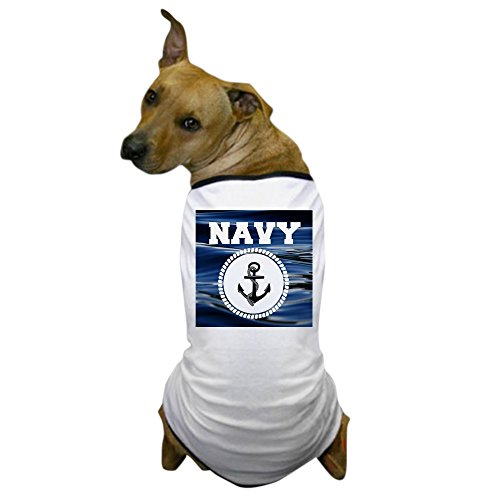 CafePress - Navy - Dog T-Shirt, Pet Clothing, Funny Dog Costume -