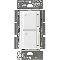 Lutron MA-ALFQ35-WH Maestro Companion Fan and Light Control, White