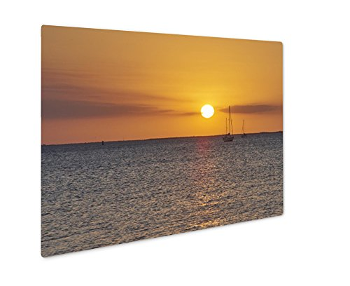 Ashley Giclee Metal Panel Print, Port Charlotte Punta Gorda Florida Sunset, Wall Art Decor, Floating Frame, Ready to Hang 16x20, - Port Fit You Charlotte