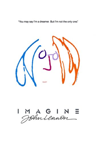 Pop Culture Graphics Imagine By John Lennon Poster27x40 Movie Poster