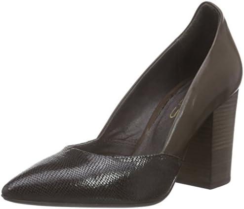 Virus 25984 - Zapatos de tacón Cerrados de Cuero Mujer, Color Multicolor, Talla 41: Amazon.es: Zapatos y complementos