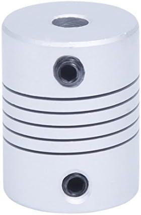 モータ軸カプラー,SODIAL(R) 5ミリメートルx5ミリメートル CNCモーターヘリカル軸カプラービームカップリング接続