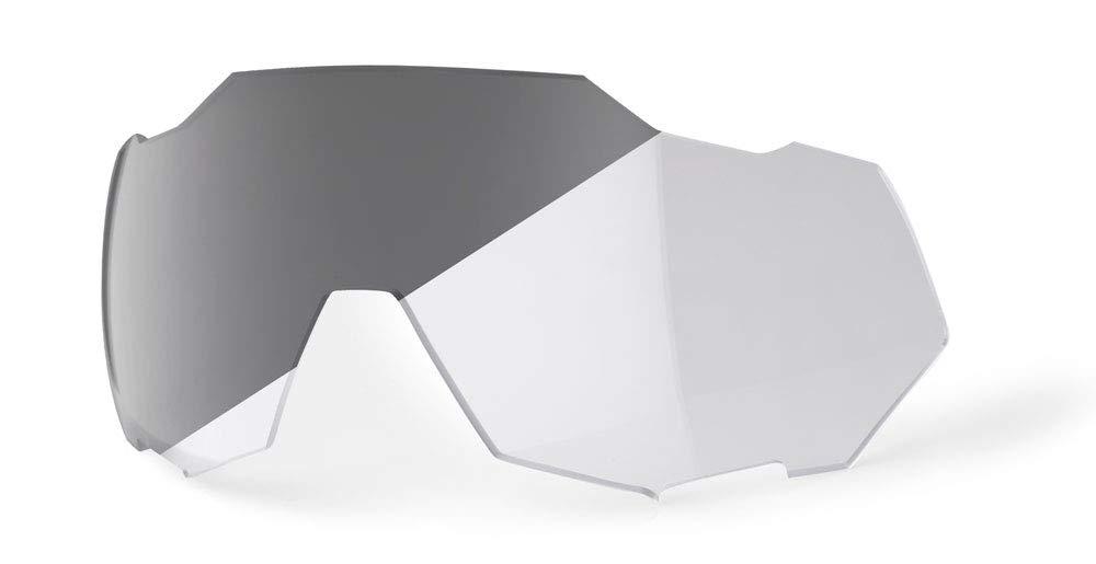 100% Percent Speedtrap Sunglass Replacement Lens - Photochromic - 62023 (Photochromic Clear/Smoke)