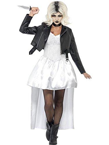 Women's White Bride Of Chucky Costume