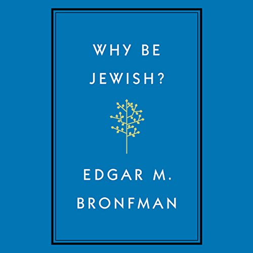Why Be Jewish?: A Testament by Hachette Audio