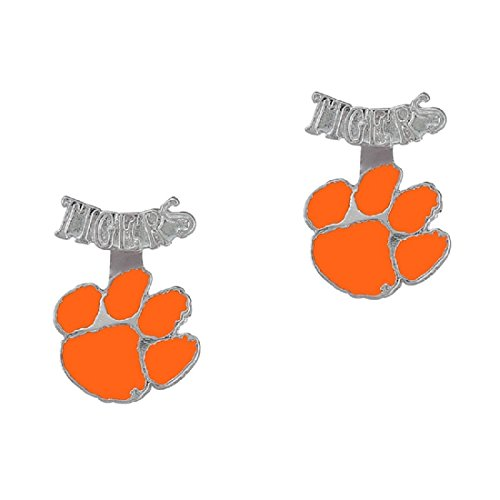 Clemson Mascot Costume (Clemson Tigers Evie Earrings)
