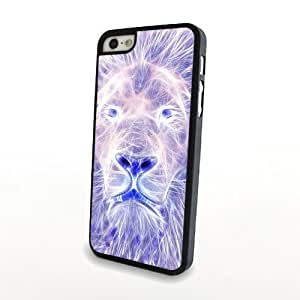 Magic Lion King Portrait for iPhone 5/5s Hard Back Plastic Cover Matte Case Carrying Protector - Can Customize for Other Phones