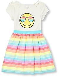Big Girls' Short Sleeve Casual Dress