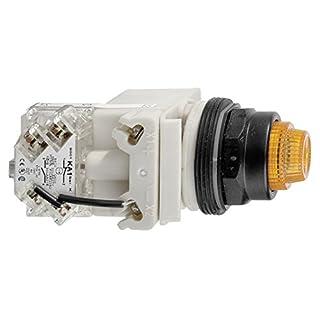 SCHNEIDER ELECTRIC 9001KT38LYA31 model Name Push To Test Pilot Light Complete,30Mm,120Vac Voltage,Lamp Type: Led