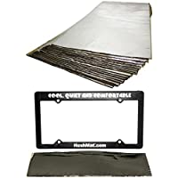 HushMat 10330 Cargo Kit/16 Silver Sheets 12 x 23 10600 License Plate Kit
