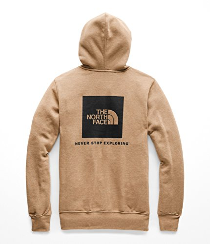 The North Face Men's Red Box Pullover Hoodie - Cargo Khaki Heather & TNF Black - XL