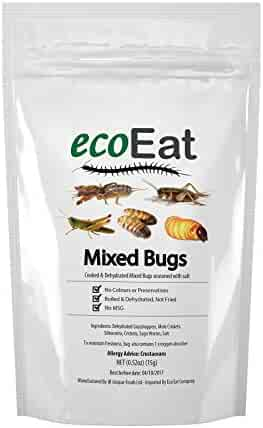 ecoEat Mixed Edible Insects - 15g