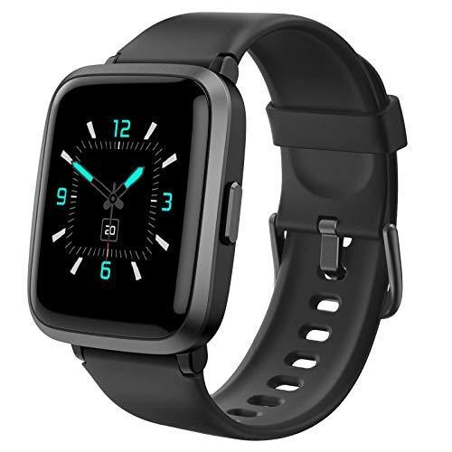 AIKELA Smartwatch,Relojes Inteligentes Mujer Hombre,Deporte Reloj de Fitness con Impermeable IP68,Actividad Monitores de Datos Físicos/Ciclo Menstrual Femenino,Compatible con Android iOS Negro a buen precio