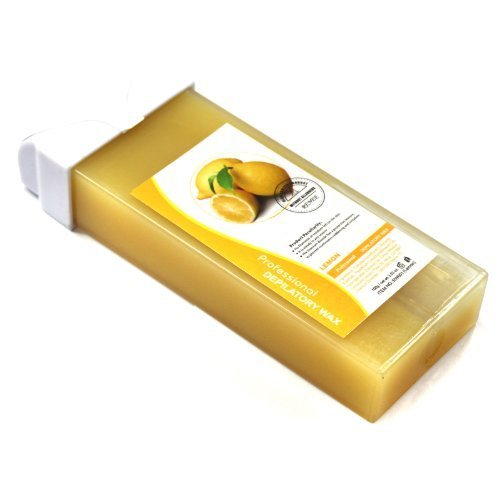 Lemon Taste Professional Roll-on Refillable Wax Carriage Waxing Roll Hair Removal Cream Supplier for Hot Depilatory Heater Warmer 100g