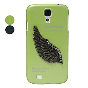 TOPAA Eagle's Wing Hard Case for Samsung Galaxy S4 I9500 (Assorted Color) , Green