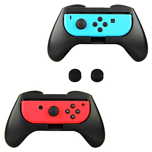 Tpfoon Joy Con Grip Handle Kits For Nintendo Switch  2 Pack
