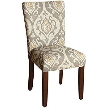 Amazon Com Paisley Fabric Dining Room Chairs Add Style