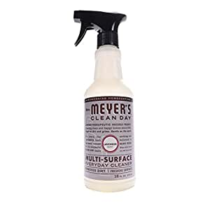 Mrs. Meyer's Clean Day Multi-Surface Everyday Cleaner, Lavender, 16 Fluid Ounce (Pack of 3)